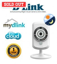 D-Link DCS-942L Enhanced Day / Night Cloud Wireless N Network IP Cloud Camera CCTV Home Security Support SD Card
