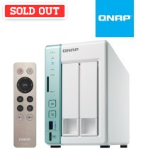 QNAP TS-251A-2G Dual-core NAS Gigabit 2-Bay USB QuickAccess port for direct access to files ( 2GB )