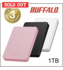 Buffalo MiniStation USB3.0 Shock Proof Portable External Hard Disk ( 1TB )