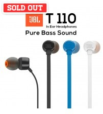 JBL T110 Pure Sound Bass Wired In-Ear Headphones With Microphone