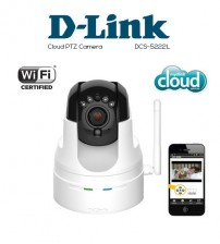 D-LINK DCS-5222L Cloud PTZ Camera Wireless Pan/Tilt/Zoom/Night View (CCTV)