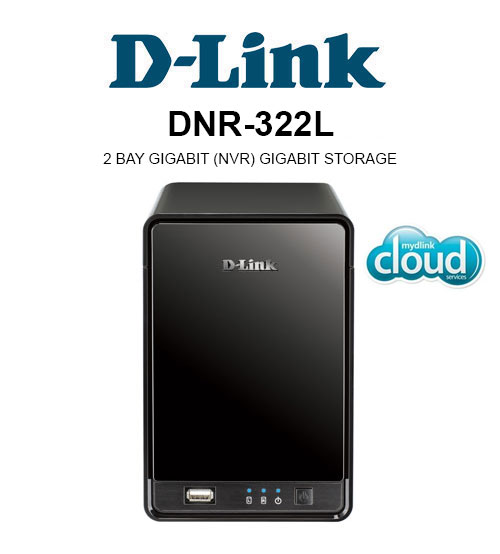 D-Link DNR-322L Cloud Network Video Recorder