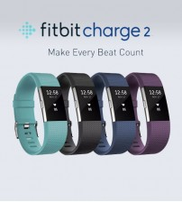 "Fitbit Charge 2 Heart Rate + Fitness Wristband Small 5.5"" – 6.7"""