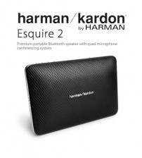 Harman Kardon Esquire 2 Premium Portable Bluetooth Speaker with Quad Microphone Conferencing System