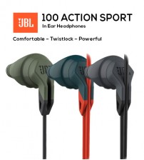 JBL Grip 100 Action Sport In-Ear Headphones Audios