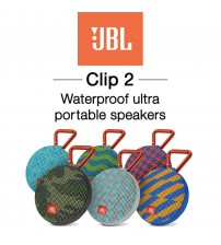 JBL Clip 2 Ultra Portable Waterproof Bluetooth Speaker - Limited Edition