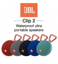 JBL Clip 2 Ultra Portable Waterproof Wireless Bluetooth Speaker