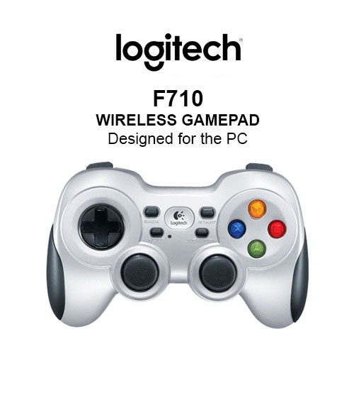 Logitech F710 Wireless PC Gamepad Advanced Console-Style Controller