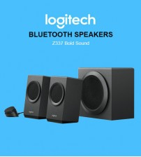 Logitech Z337 Speaker System Bold Sound With Bluetooth Multimedia Speaker