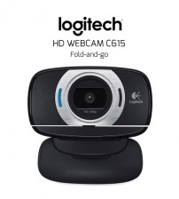 Logitech HD Webcam C615 Fold-and-Go (8MP)