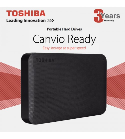 Toshiba Canvio Ready Basics 3.0 USB Portable External Hard