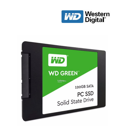 "WD Western Digital Green PC Solid State Drive SSD 2.5""  (120GB / 240GB)"