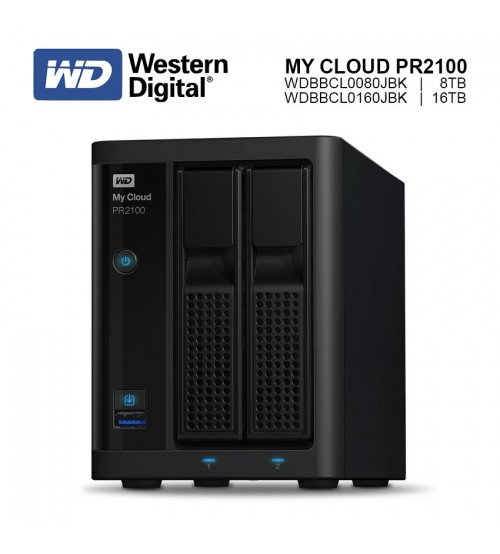 WD Western Digital My Cloud Pro PR2100 Network Storage ( 8TB / 16TB )