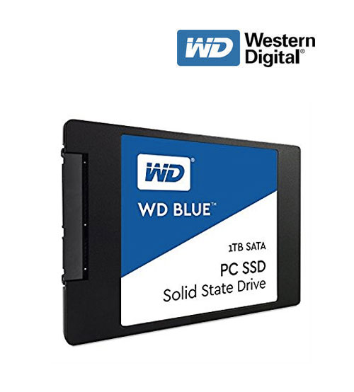 "WD Western Digital Blue PC Solid State Drive SSD Sata 2.5"" (250GB / 500GB / 1TB)"