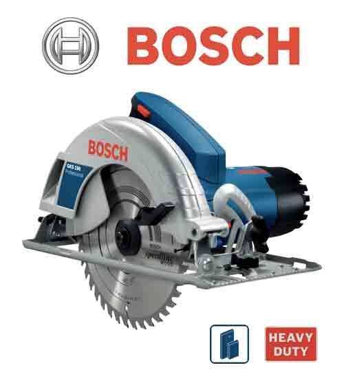 Bosch GKS190 Held Circular Saw Professional Hand - Powerful & Robust Tool