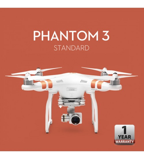 DJI Phantom 3 Standard Quadcopter Drone (DJI Authorized Service & Distributor)