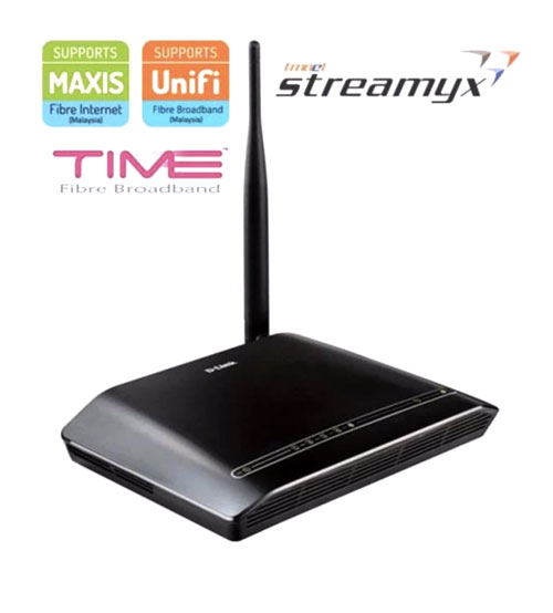 D-Link DSL-2730E ADSL2+ Wireless N WiFi Modem Router Streamyx