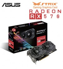 Asus Gaming Graphics Card ROG Strix Radeon RX 460 OC Edition 4GB GDDR5