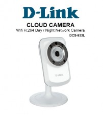 D-Link DCS-933L Cloud Camera Wifi Day Night Network Camera CCTV
