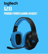 Logitech G233 Prodigy Wired Gaming Lightweight Headset