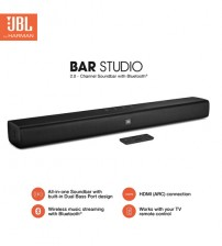 JBL Bar Studio 2.0 Channel Wireless Bluetooth Soundbar - To Enhance TV Sound