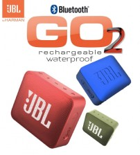 JBL Go 2 Ultra Waterproof Portable Bluetooth Speaker