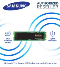 Samsung 860 EVO M.2 SATA Internal SSD Solid State Drives 2.5 Inch  ( 250GB / 500GB / 1TB )