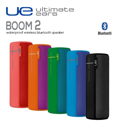 Ultimate Ears UE Boom 2 360 Degree Portable Wireless Bluetooth Speaker Power Bass Waterproof