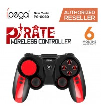 Ipega PG-9089 Pirate Wireless Bluetooth Gamepad Joystick Controller With Telescopic Stand