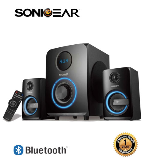 Sonic Gear Titan 9 BTMI Bluetooth Multimedia Speaker