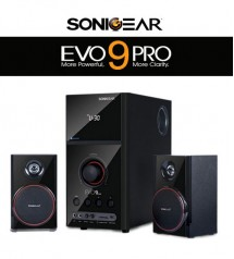SonicGear Evo 9 BTMI Bluetooth Multimedia Speaker with Bluetooth / FM Radio / SD Slot / USB Slot / Aux Input