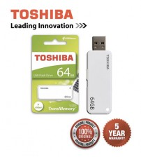 Toshiba USB 2.0 Trans Memory Yamabiko U203 Stylish & Compact USB Flash Drives 16GB / 32GB / 64GB