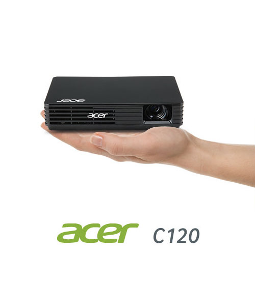 Acer c120 wv u led pico projector for Laptop pico projector
