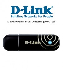 D-Link Wireless N USB Adapter (DWA-132)