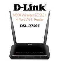 D-Link DSL-2750E Wireless ADSL2+300mbps Router Modem