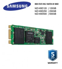 Samsung SSD 850 EVO M.2 SATA III 3-D Vertical Internal for Ultra-thin Laptops and PCs ( 120GB / 250GB / 500GB )