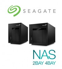 Seagate NAS Business Storage 0TB Diskless ( 2-Bays / 4-Bays )