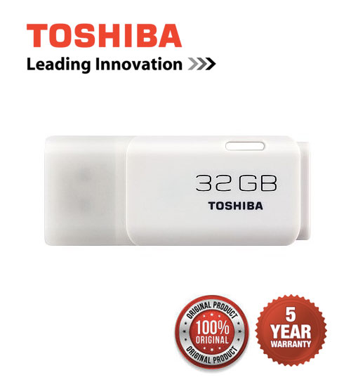 Toshiba USB 2.0 Trans Memory Hayabusa Stylish & Compact USB Flash Drives 8GB / 16GB / 32GB / 64GB