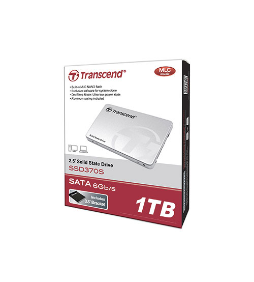Transcend Internal 2 5 Sata Iii 6gb S Ssd 370s 128gb 256gb