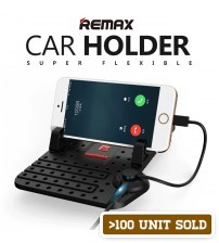 Remax Car Holder Super Flexible with Magnetic Charging Port and Anti-Skidding Mat
