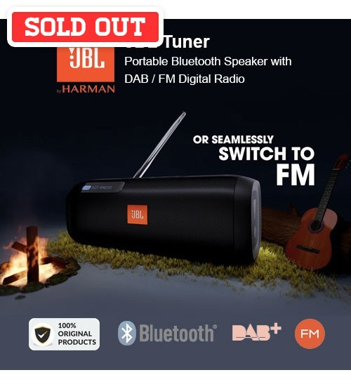 JBL Tuner Portable Bluetooth Wireless Speaker with DAB / FM Radio