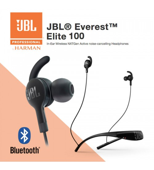 JBL Everest Elite 100 In-Ear Wireless NXTGen Active Noise-Cancelling Headphones