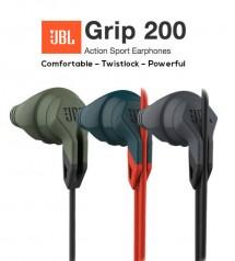 JBL Grip 200 Action Sport Wired In-Ear Earphones With Twistlock Design