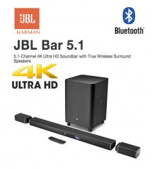 JBL Bar 5.1 (510W) Soundbar with True Wireless Surround Speakers (4K)