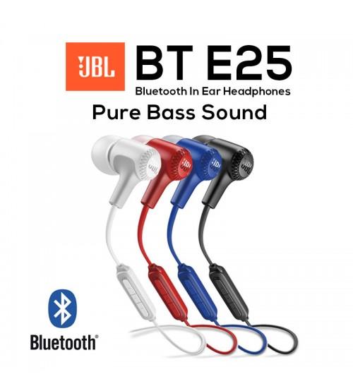 JBL E25BT Wireless Bluetooth Signature Sound In-Ear Headphones