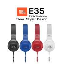 JBL E35 Signature Sound Wired On-Ear Headphones with Microphone