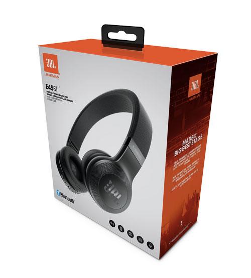 Waterproof Wireless Headphones >> JBL E55BT Signature Sound Wireless Bluetooth Over-Ear Headphones
