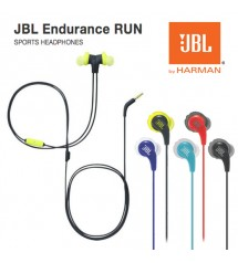 JBL Endurance Run Sweatproof Wired Sports Sport Gym Jogging Running In-Ear Headphones