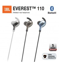 JBL Everest 110 Wireless Bluetooth In-Ear Headphones With Echo Cancelling Microphone