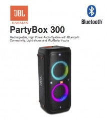 JBL Partybox 300 Bluetooth Portable Party Speaker with Light Effects